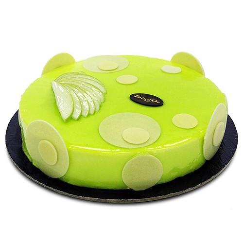 Green Apple Med Cake