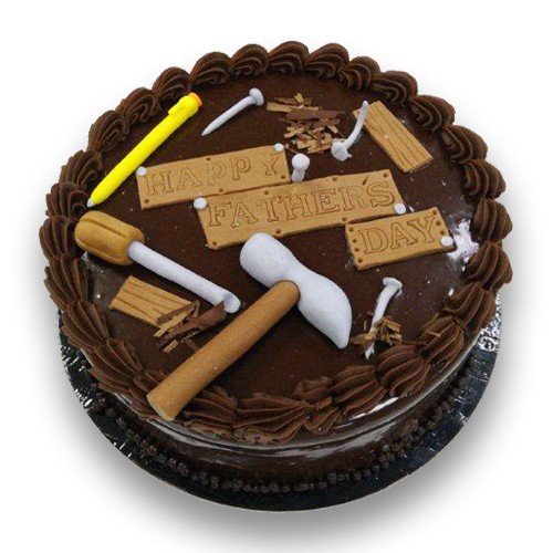 Chocolate Tools Cake