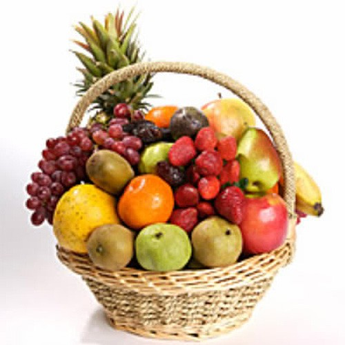 Send this medium fruit basket to kuwait medium fruit basket negle Images